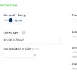 Adjust arbitrage options