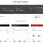 Arbitrage rules setup